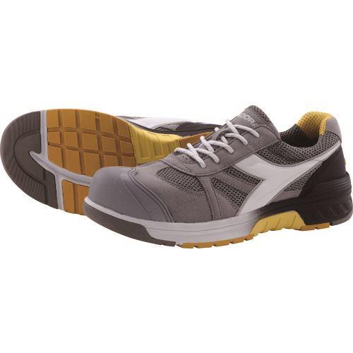 ■ディアドラ 安全作業靴 ガル  グレー+ホワイト+グレー 29.0cm  〔品番:GL818290〕[TR-1473391]
