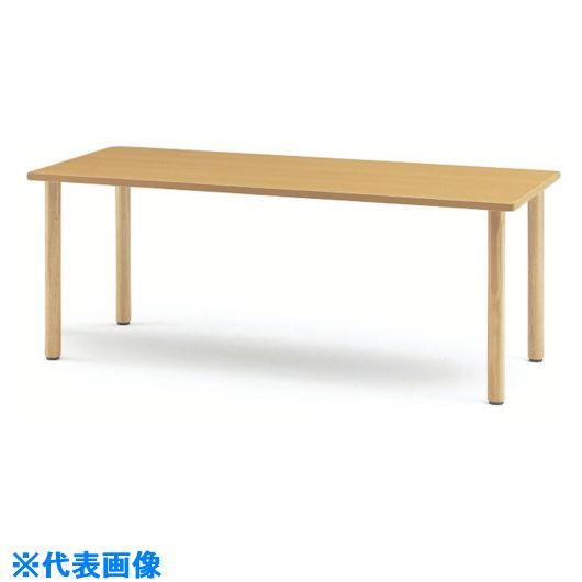 ■TOKIO ダイニングテーブルアジャスタータイプ1200X750X700メープル〔品番:MIT-1275〕[TR-1474027 ]【送料別途お見積り】