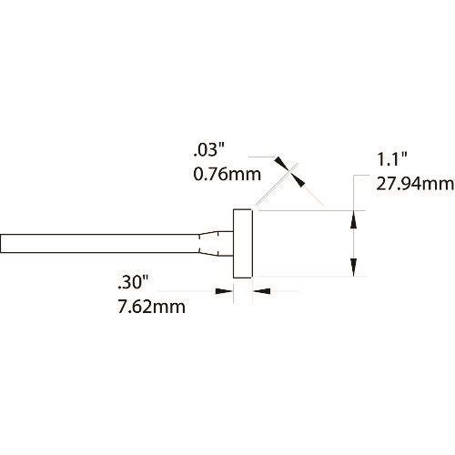■メトカル METCAL MXシリーズ ツイーザータロン チップカートリッジ 〔品番:TATC-606〕[TR-1475509]【個人宅配送不可】