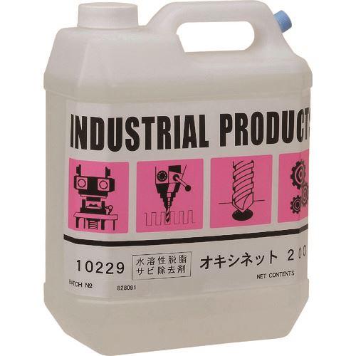 ■旭 弱酸性電解液 OX-200 ガロン缶  〔品番:OX-200〕[TR-1475951]