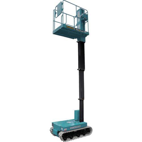 ■デンヨー マストブーム型垂直昇降  〔品番:HW-380IC〕[TR-1477582]【大型・重量物・個人宅配送不可】