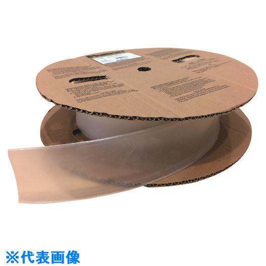 ■パンドウイット 熱収縮チューブ 標準長尺タイプ 透明 61M巻  〔品番:HSTT38-TC〕[TR-1478963]