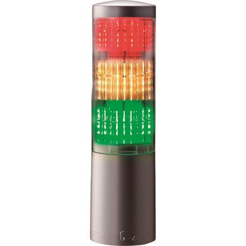 ■パトライト 積層情報表示灯  〔品番:LA6-3DTNUN-RYG〕[TR-1479507]