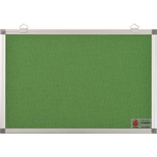 ■緑十字 屋内用掲示板(壁面設置型) グリーン 高さ900×幅1200mm 防炎適合製品〔品番:327211〕[TR-1481328 ]【送料別途お見積り】