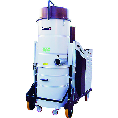 ■DANAX グリーンマイスターPUMA10 三相200Vモーター式乾湿両用バキュームクリーナー〔品番:PUMA10〕[TR-1487094][送料別途見積り][法人・事業所限定][直送]