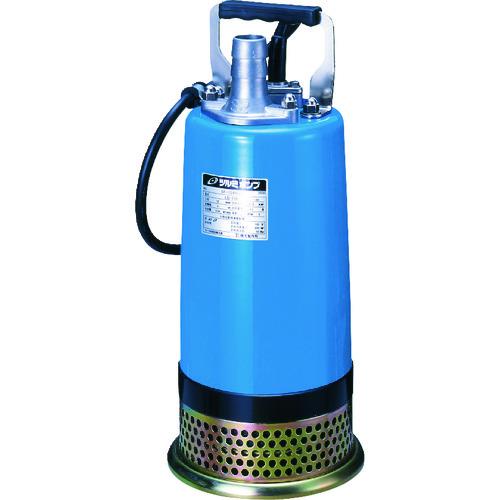 ■ツルミ 一般工事排水用水中ハイスピンポンプ 50HZ 口径32MM 単相100V  〔品番:LB-150〕[TR-1488394]