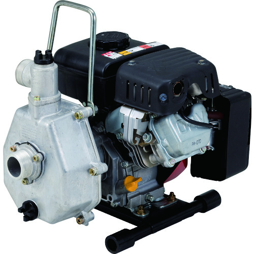 ■ツルミ 排水用エンジンポンプ 口径25MM  〔品番:TE4-25MY〕[TR-1492612]【個人宅配送不可】