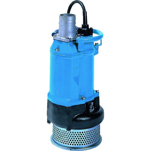 ■ツルミ 一般工事排水用水中ポンプ 50HZ 口径100MM 三相200V  〔品番:KTZ411-52〕[TR-1492713]【大型・重量物・個人宅配送不可】