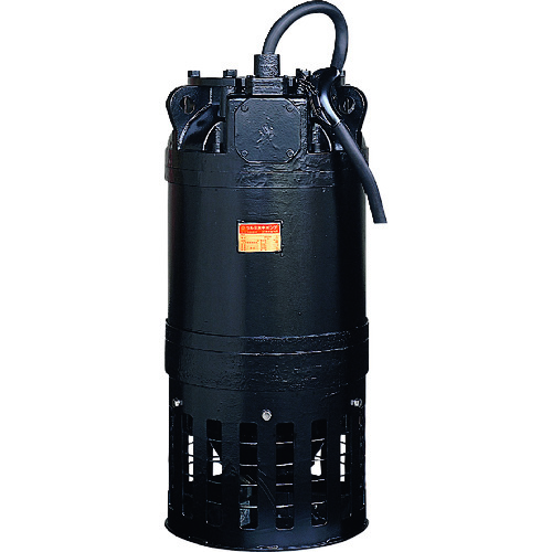 ■ツルミ 一般工事排水用水中ポンプ 60HZ 口径350MM 三相200V  〔品番:KRS-1437〕[TR-1492793]【大型・重量物・個人宅配送不可】