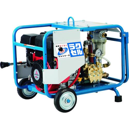 ■ツルミ 高圧洗浄機 エンジンシリーズ(セル付きタイプ)〔品番:HPJ-4100ES〕[TR-1492856]【個人宅配送不可】