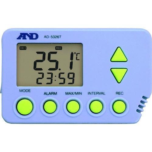 爆買い!  ?A&D 温度データロガー AD5326T 一般(ISO)校正付(検査成績書+トレサビリティ体系図) 〔品番:AD5326T-00A00〕[TR-1492931]:ファーストFACTORY -DIY・工具