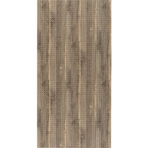 ■光 木調パンチングボード ヴィンテージ 約910×1820MM 3枚入 〔品番:PGMBD189-1〕[TR-1520332×3]【大型・重量物・個人宅配送不可】