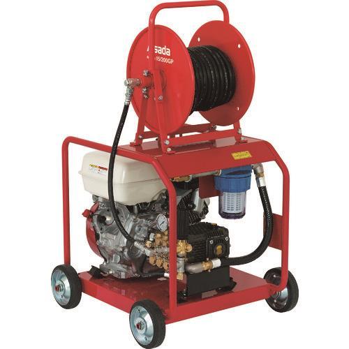 ■アサダ 高圧洗浄機15/200GP〔品番:HD1520P2〕[TR-1523425]【個人宅配送不可】