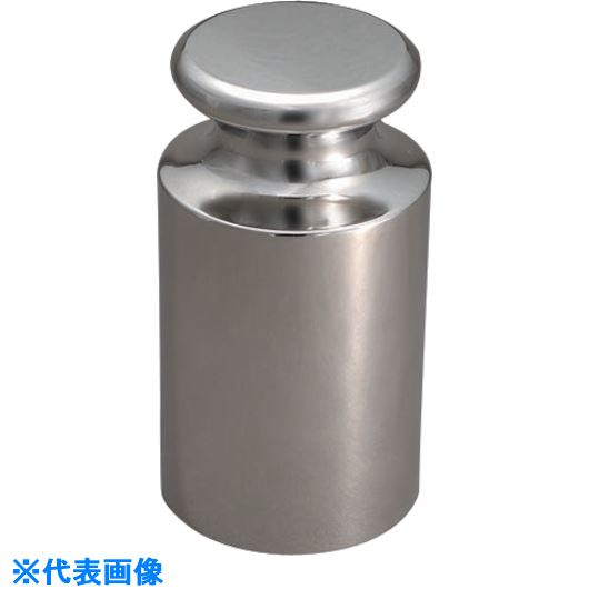 ■VIBRA OIML型円筒分銅(非磁性ステンレス) 10KG M1級〔品番:M1CSO-10K〕[TR-1525071]【個人宅配送不可】