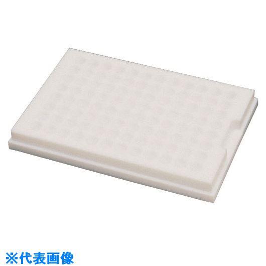■フロンケミカル フッ素樹脂(PTFE) カルチャープレート U底型〔品番:NR1037-001〕[TR-1531328]