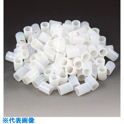 ■フロンケミカル フッ素樹脂(PTFE)ラッシリング 8×6《100袋入》〔品番:NR1231-003〕[TR-1531335]