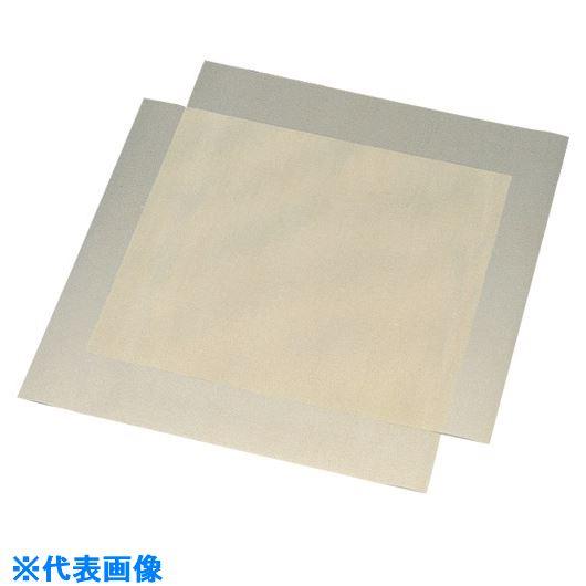 ■フロンケミカル フッ素樹脂(PTFE)グラスシート 0.075X500X500《10枚入》〔品番:NR0325-003〕[TR-1531343×10]