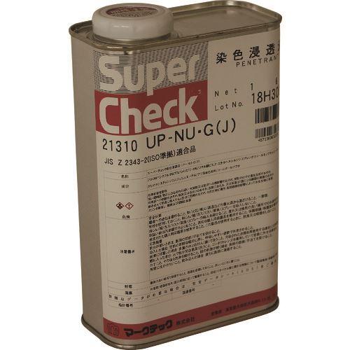■MARKTEC スーパーチェック 浸透液 UP-NU・G(J) 1L  〔品番:C002-0021310〕[TR-1533434]