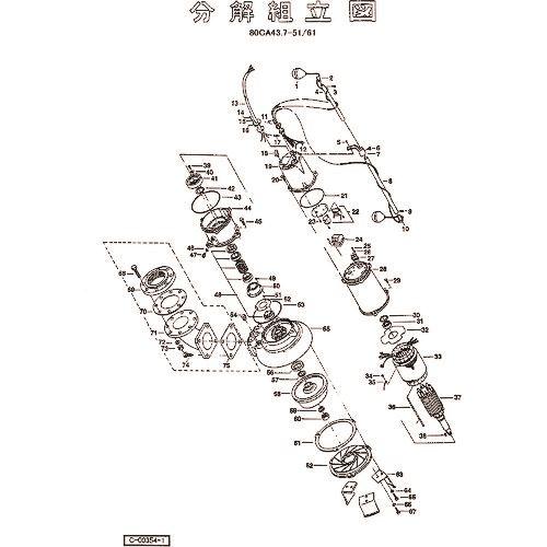 ■ツルミ 羽根車(超硬付,50HZ用)  〔品番:801-02180117-9〕[TR-1538945]【送料別途お見積り】