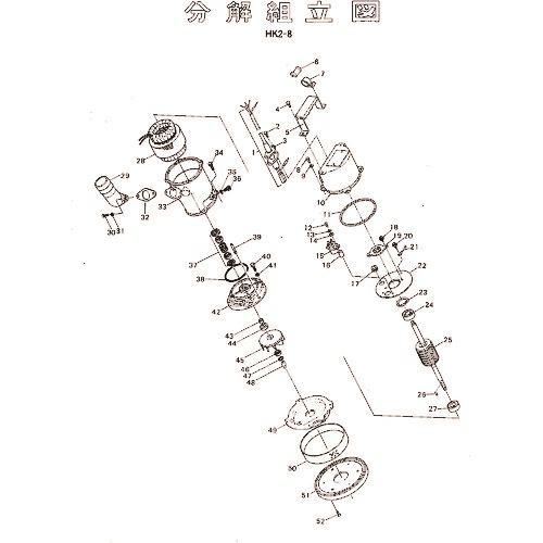 ■ツルミ 羽根車(60HZ用)  〔品番:801-021B9612-9〕外直送[TR-1539531]【送料別途お見積り】