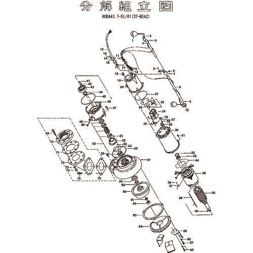 ■ツルミ キャブタイヤケーブル(完)X6M  〔品番:801-00117920-9〕[TR-1540228]【送料別途お見積り】