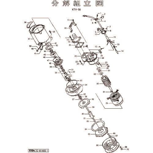 ■ツルミ キャブタイヤケーブル(完)X8M  〔品番:801-00130615-9〕外直送[TR-1540273]【送料別途お見積り】