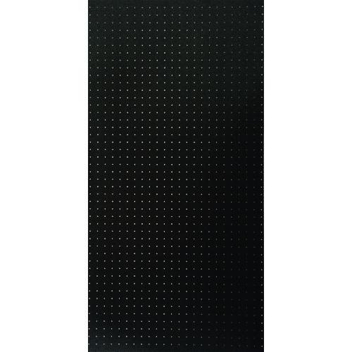 ■光 パンチングボード 黒 約1200×600 5枚入 〔品番:PGBDFN1260-1〕[TR-1542178×5]