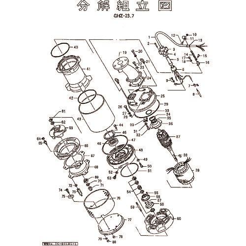 ■ツルミ キャブタイヤケーブル(完)X25M  〔品番:801-00184058-9〕[TR-1543630]「送料別途見積り」・「法人・事業所限定」・「外直送」