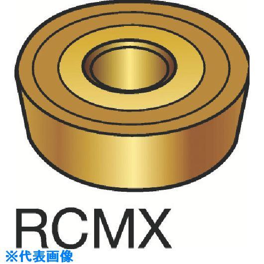 ■サンドビック T-MAX P 旋削用ポジ・チップ H13A H13A 10個入 〔品番:RCMX〕[TR-1562355×10]