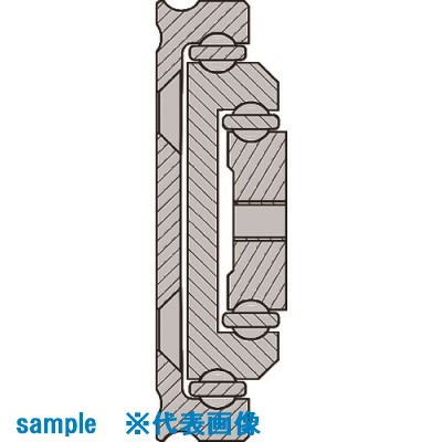 ■スガツネ工業 (190114109)CBL-RA44-600スライドレール  〔品番:CBL-RA44-600〕[TR-1573871]