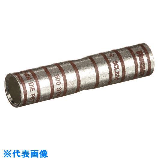 ■パンドウイット 銅製バットスプライス ロングバレル 電線サイズ500KCMIL SCL500-6  〔品番:SCL500-6〕[TR-1575588]