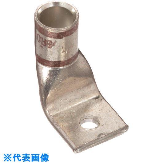 ■パンドウイット 銅製圧縮端子 1穴 電線サイズ AWG2 取付穴サイズ 135MM バレル角度 90度 LCAX2-12F-E  〔品番:LCAX2-12F-E〕[TR-1577339]