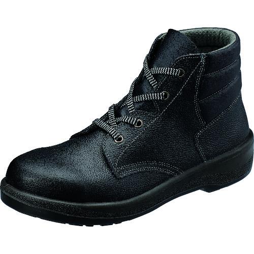■シモン 安全靴 編上靴 7522黒 24.5cm〔品番:7522N-24.5〕[TR-1578464]