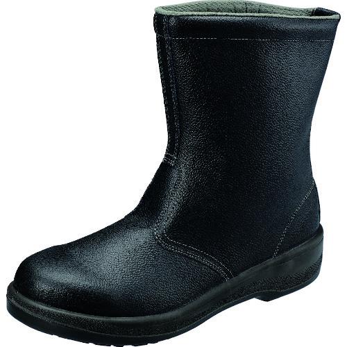 ■シモン 安全靴 半長靴 7544黒 25.0cm〔品番:7544N-25.0〕[TR-1578677]