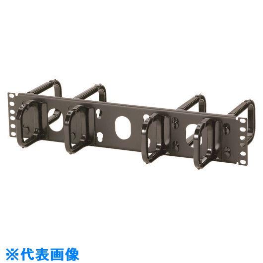 ■パンドウイット リング型 水平ケーブル管理パネル 両面リング 2U CMPH2  〔品番:CMPH2〕[TR-1578727]