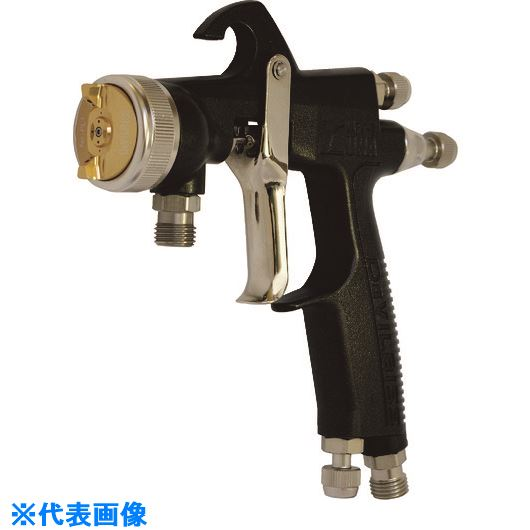 CFTランズバーグ(株) スプレーガン(圧送式)  ■デビルビス 圧送式スプレーガンLVMP仕様(ノズル口径1.1mm)〔品番:LUNA2-K-PL1-FX-P〕[TR-1580125]