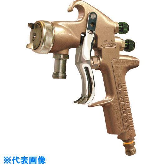 ■デビルビス 圧送式スプレーガンLVMP仕様、幅広(ノズル口径1.4mm)〔品番:JUPITER-K-P2-FF-P〕[TR-1580148]