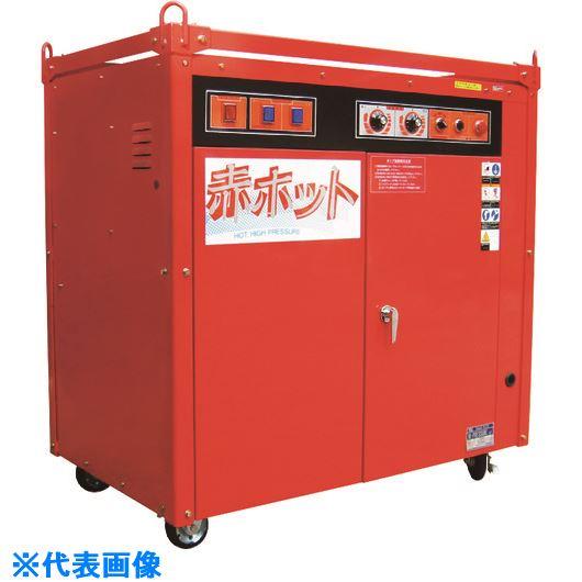 ■ツルミ 高圧洗浄機 モータ駆動シリーズ(温水タイプ)〔品番:HPJ-110HC-3〕[TR-1581770]【個人宅配送不可】