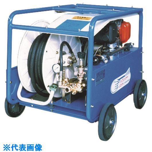 ■ツルミ 高圧洗浄機 エンジンシリーズ(ベルト掛けタイプ)〔品番:HPJ-37GES4〕[TR-1583321]【個人宅配送不可】