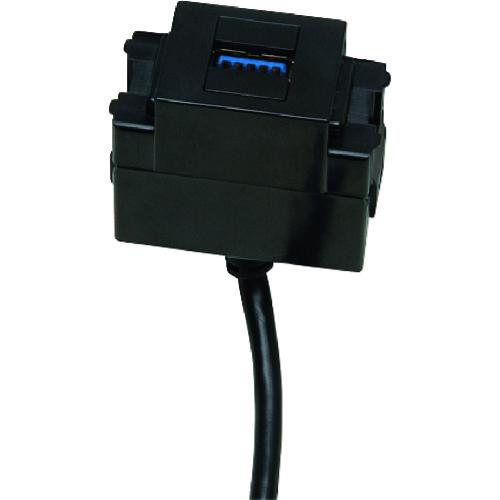 ■スガツネ工業 210036445 コンセントカバー《10個入》〔品番:DM1-USB30-BL〕[TR-1585019]