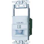 ■PANASONIC ワイド壁取付熱線センサ付自動SW2線式  〔品番:WTK18115WK〕[TR-1587756]
