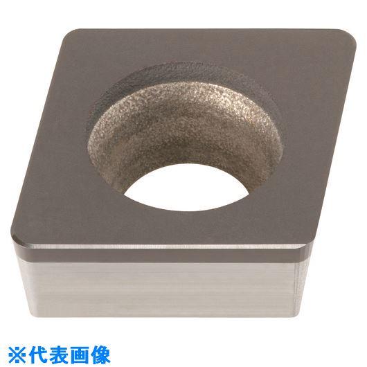 ■三菱 旋盤用 CBNインサートポジ 焼結合金・鋳鉄加工用 MB4020〔品番:CCGW09T308FS-MB4020〕[TR-1588502]