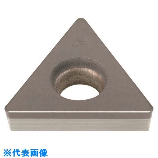 ■三菱 旋盤用 CBNインサートポジ 焼結合金・鋳鉄加工用 MB4020〔品番:TCGW110204FS-MB4020〕[TR-1588507]