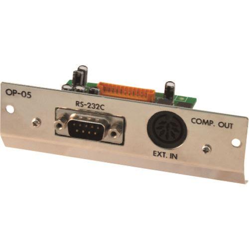 ■A&D AD-4405A用RS-232C入出力+リレー出力+コントロール入力 AD4405-05  〔品番:AD4405-05〕[TR-1591205]