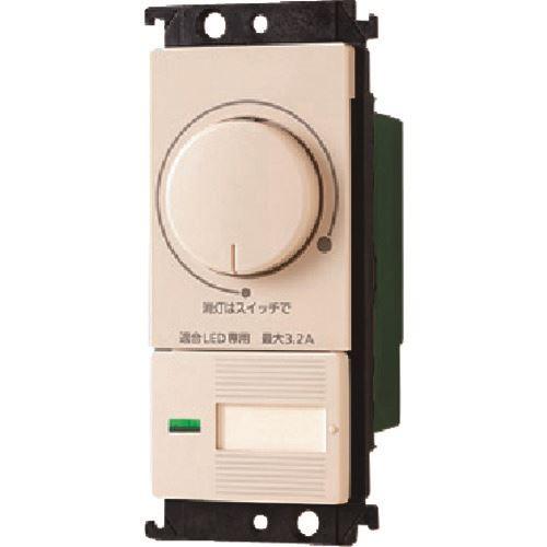 ■PANASONIC コスモLED埋込調光スイッチC(電子ほた  〔品番:WTC57523F〕[TR-1594029]