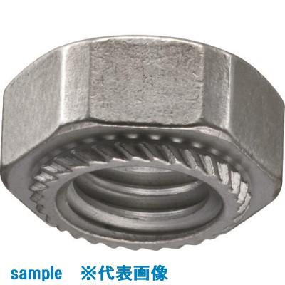■POP カレイナット/ステンレス・M4、板厚1.0ミリ以上、SS4-09(1000個入)  〔品番:SS4-09〕[TR-1596165]