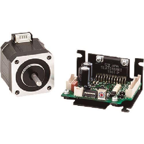 ■シナノケンシ 標準小型マイクロステップドライバ&ステッピングモータ 取付サイズ42MM〔品番:CSBUK42D2D〕[TR-1597480]【個人宅配送不可】