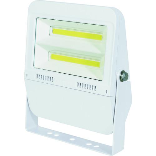 ■日動 LED投光器 常設用フラットライト50W 本体白 昼白色 SP付〔品番:LJS-F50D-W-50K〕[TR-1620441][送料別途見積り][法人・事業所限定][掲外取寄]