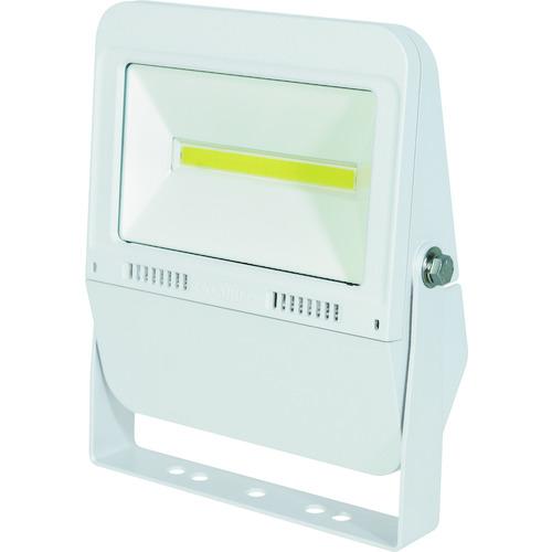 ■日動 LED投光器 常設用フラットライト30W 本体白 昼白色 SP付〔品番:LJS-F30D-W-50K〕[TR-1620486][送料別途見積り][法人・事業所限定][掲外取寄]