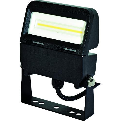 ■日動 LED投光器 常設用フラットライト10W 本体黒 昼白色 SP付〔品番:LJS-FA10D-BK-50K〕[TR-1620499][送料別途見積り][法人・事業所限定][掲外取寄]